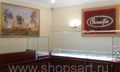 Торговое оборудование для ювелирного магазина Октябрь VIP зал Фото 31