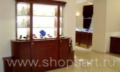 Торговое оборудование для ювелирного магазина Октябрь VIP зал Фото 35