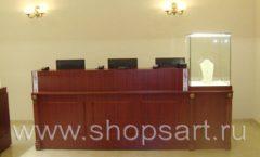 Торговое оборудование для ювелирного магазина Октябрь VIP зал Фото 36