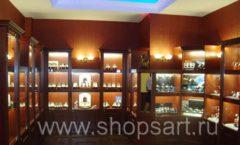 Фотографии торгового оборудования ювелирного магазина Октябрь Зал часов Фото 40