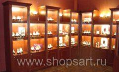 Фотографии торгового оборудования ювелирного магазина Октябрь Зал часов Фото 41