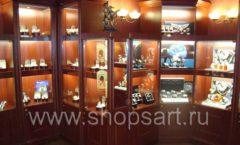 Фотографии торгового оборудования ювелирного магазина Октябрь Зал часов Фото 42