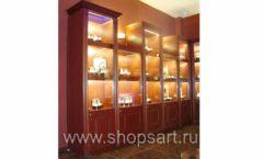 Фотографии торгового оборудования ювелирного магазина Октябрь Зал часов Фото 45