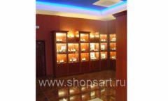 Фотографии торгового оборудования ювелирного магазина Октябрь Зал часов Фото 46