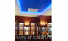 Фотографии торгового оборудования ювелирного магазина Октябрь Зал часов Фото 49