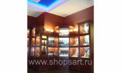 Фотографии торгового оборудования ювелирного магазина Октябрь Зал часов Фото 50
