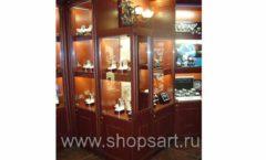Фотографии торгового оборудования ювелирного магазина Октябрь Зал часов Фото 51