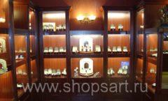 Торговое оборудование для ювелирного магазина Октябрь Зал часов КОРИЧНЕВАЯ КЛАССИКА Фото 43