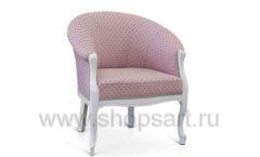 Кресло розовое для зоны отдыха в магазине