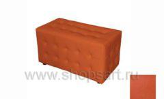 Банкетка Комфорт плюс оранжевая для примерочной