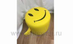 Пуфик Смайлик желтый для детского магазина