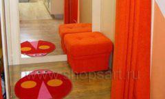 Дизайн интерьера пуфики банкетки диваны Дизайн 14