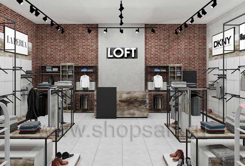 a689753d2cb Торговое оборудование для магазина одежды - купить оборудование для ...