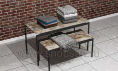 Столики торговые для выкладки одежды торговое оборудование ЛОФТ