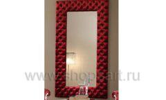 Зеркало Мариачи настенное красная рама для магазина
