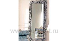 Зеркало Ферари серебряная рама для магазина