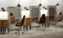 Дизайн интерьера для салонов красоты парикмахерских барбершопов мебель ЛОФТ Дизайн 05