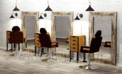 Дизайн интерьера для салонов красоты парикмахерских барбершопов мебель ЛОФТ Дизайн 06