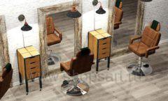Дизайн интерьера для салонов красоты парикмахерских барбершопов мебель ЛОФТ Дизайн 07