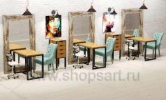 Дизайн интерьера для салонов красоты парикмахерских барбершопов мебель ЛОФТ Дизайн 10