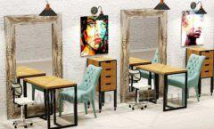 Дизайн интерьера для салонов красоты парикмахерских барбершопов мебель ЛОФТ Дизайн 12