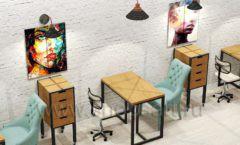 Дизайн интерьера для салонов красоты парикмахерских барбершопов мебель ЛОФТ Дизайн 14
