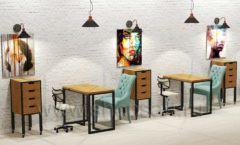 Дизайн интерьера для салонов красоты парикмахерских барбершопов мебель ЛОФТ Дизайн 15