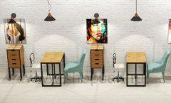 Дизайн интерьера для салонов красоты парикмахерских барбершопов мебель ЛОФТ Дизайн 16
