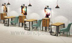 Дизайн интерьера для салонов красоты парикмахерских барбершопов мебель ЛОФТ Дизайн 18