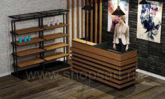 Дизайн интерьера 2 для салонов красоты парикмахерских барбершопов мебель ЛОФТ Дизайн 3