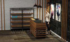 Дизайн интерьера 2 для салонов красоты парикмахерских барбершопов мебель ЛОФТ Дизайн 4