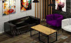 Дизайн интерьера 2 для салонов красоты парикмахерских барбершопов мебель ЛОФТ Дизайн 6