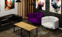 Дизайн интерьера 2 для салонов красоты парикмахерских барбершопов мебель ЛОФТ Дизайн 7