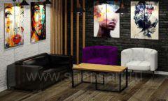 Дизайн интерьера 2 для салонов красоты парикмахерских барбершопов мебель ЛОФТ Дизайн 8