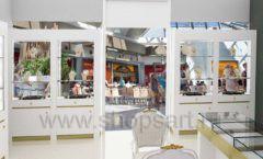 Дизайн интерьера ювелирного магазина Золотой имидж ТЦ Капитолий СОВРЕМЕННЫЙ СТИЛЬ Дизайн 10