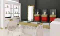 Дизайн интерьера ювелирного магазина торговое оборудование СОВРЕМЕННЫЙ СТИЛЬ Дизайн 04