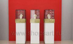 Дизайн интерьера ювелирного магазина торговое оборудование СОВРЕМЕННЫЙ СТИЛЬ Дизайн 09