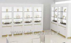 Дизайн интерьера ювелирного магазина торговое оборудование СОВРЕМЕННЫЙ СТИЛЬ Дизайн 10