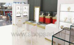 Дизайн интерьера ювелирного магазина торговое оборудование СОВРЕМЕННЫЙ СТИЛЬ Дизайн 11