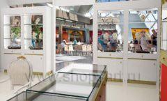 Дизайн интерьера ювелирного магазина торговое оборудование СОВРЕМЕННЫЙ СТИЛЬ Дизайн 12
