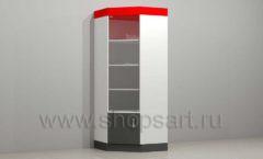 Шкаф витрина для автосалона угловая мебель для автосалона автотоваров автозапчастей