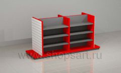 Стеллаж для запчастей островной мебель для автосалона автотоваров автозапчастей
