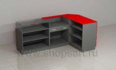 Ресепшн для автосалона угловой мебель для автосалона автотоваров автозапчастей