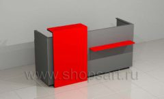 Стойка администратора автосалона мебель для автосалона автотоваров автозапчастей