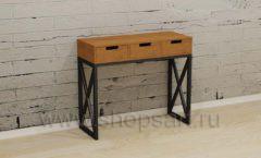 Косметический стол мебель для салонов красоты парикмахерских барбершопов Лофт