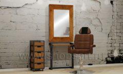 Комплект мебели для парикмахера мебель для салонов красоты парикмахерских барбершопов Лофт