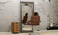 Место парикмахера мебель для салонов красоты парикмахерских барбершопов Лофт