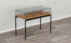 Столик для товара мебель для салонов красоты парикмахерских барбершопов Лофт