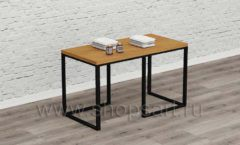 Маникюрный стол мебель для салонов красоты парикмахерских барбершопов Лофт