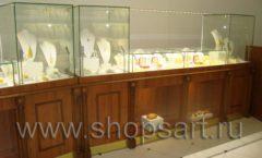 Торговое оборудование ювелирного магазина Амбер КОРИЧНЕВАЯ КЛАССИКА Фото 11